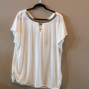 NWT Cream blouse